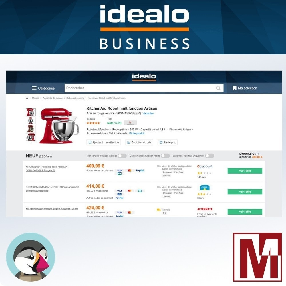 module - Price Management - Price comparison IDEALO tracking pixel - 1