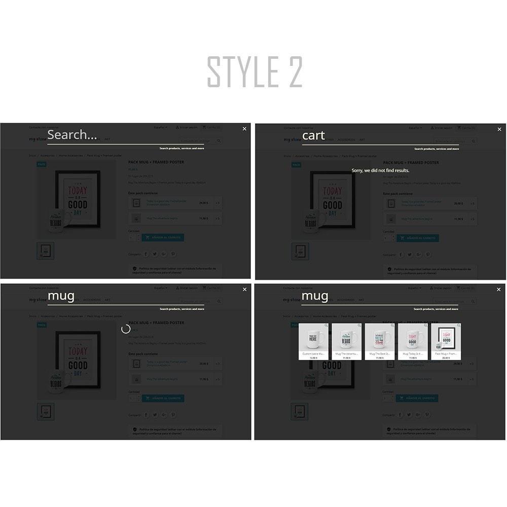 module - Поиск и фильтры - Instant and advanced searches | Seven - 4