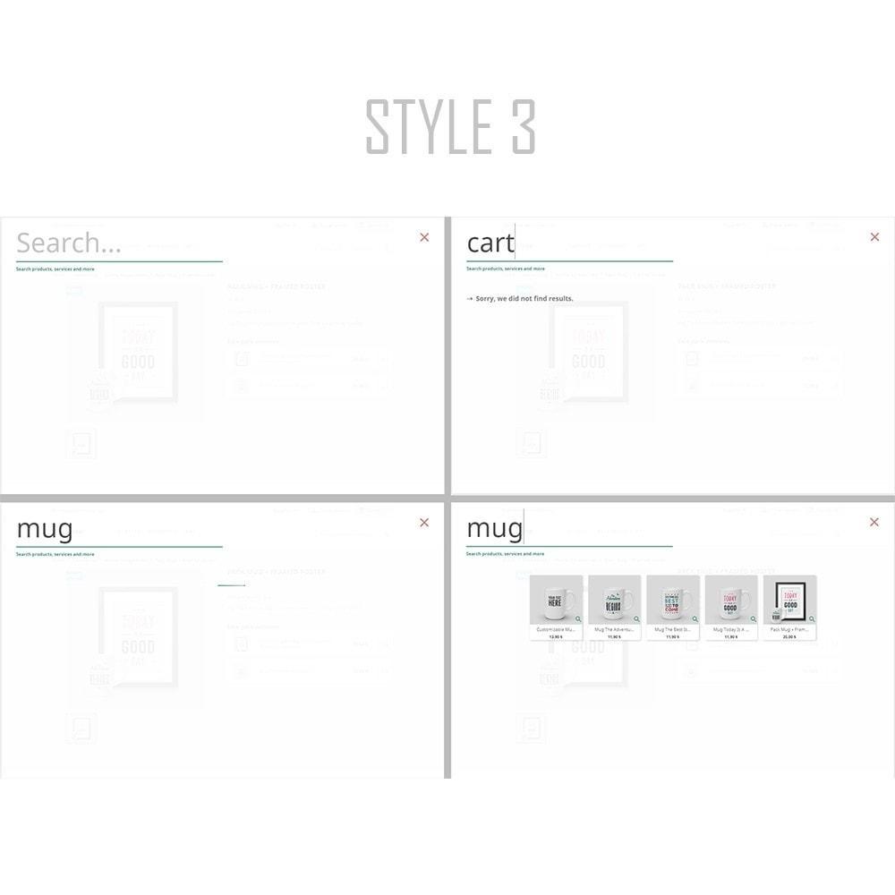module - Pesquisa & Filtros - Instant and advanced searches | Seven - 5