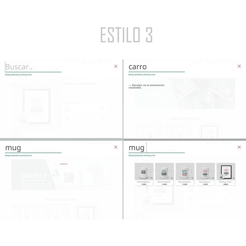 module - Búsquedas y Filtros - Búsquedas instantáneas y avanzadas   Siete - 5