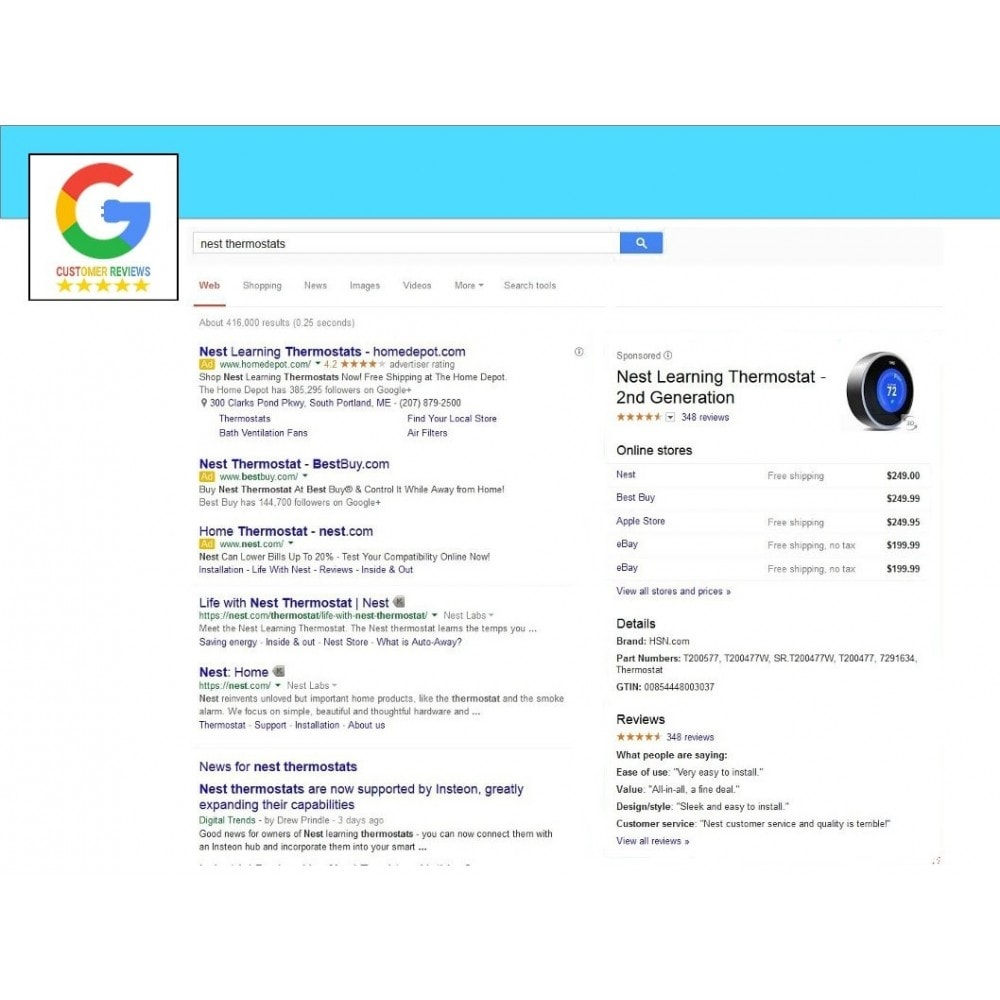 module - Klantbeoordelingen - Google Customer Reviews - 7
