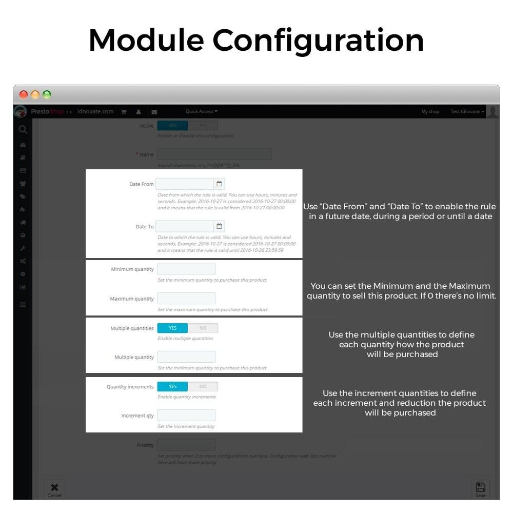 module - Edición Rápida y Masiva - Cantidad unitaria de productos mínimo y máximo - 2