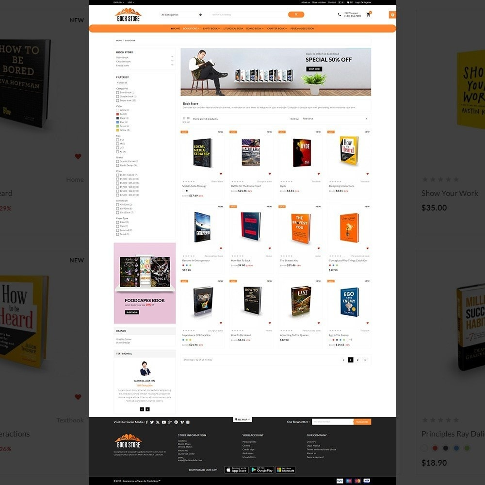 theme - Eletrônicos & High Tech - The Mega Book Store - 3