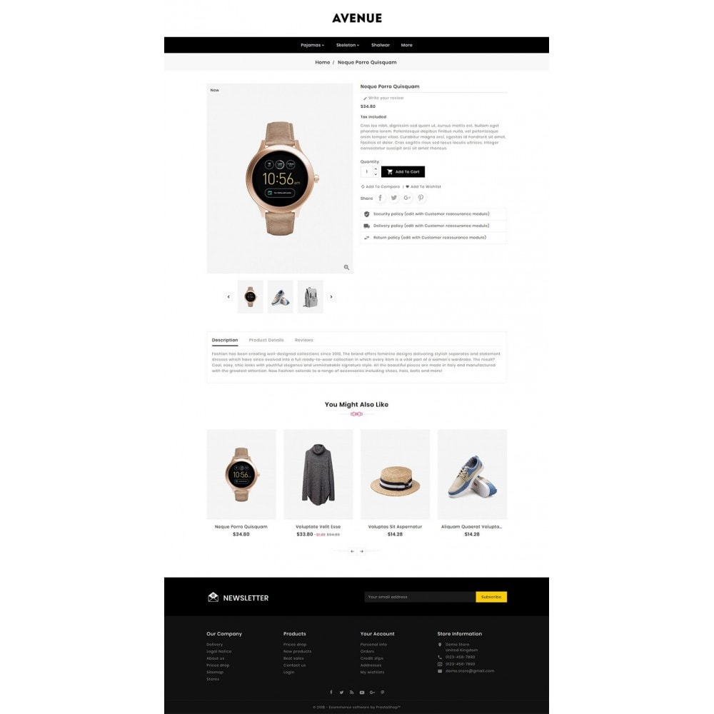 theme - Fashion & Shoes - AVENUE Fashion - 5