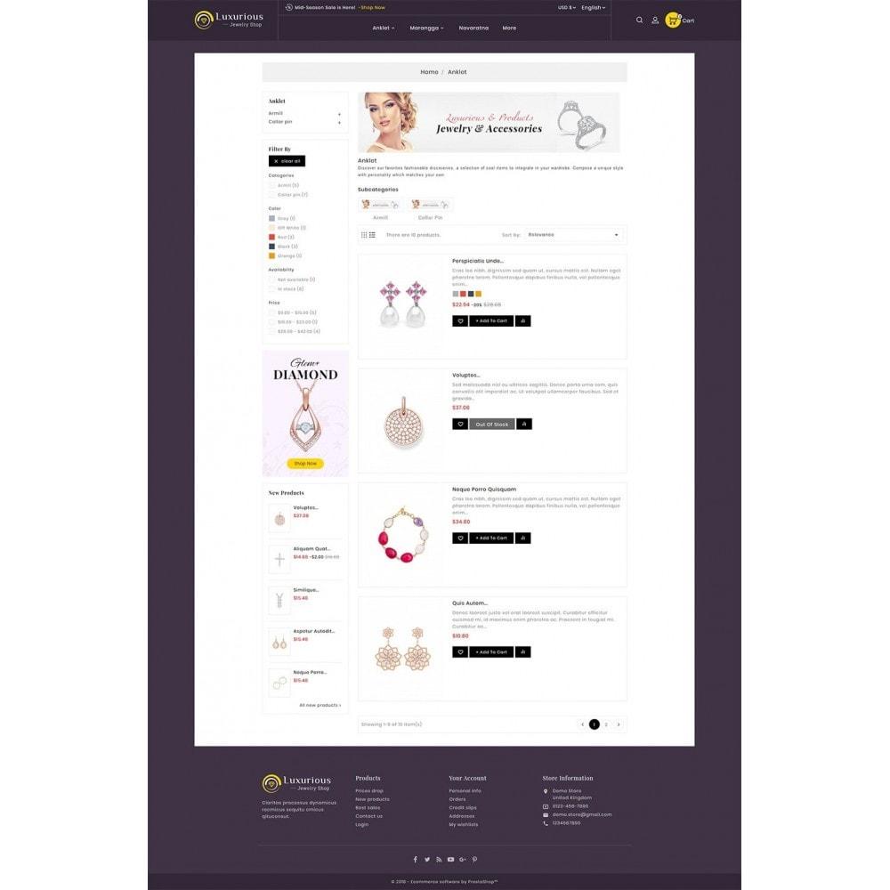 theme - Bijoux & Accessoires - Luxurious Jewelry - 4