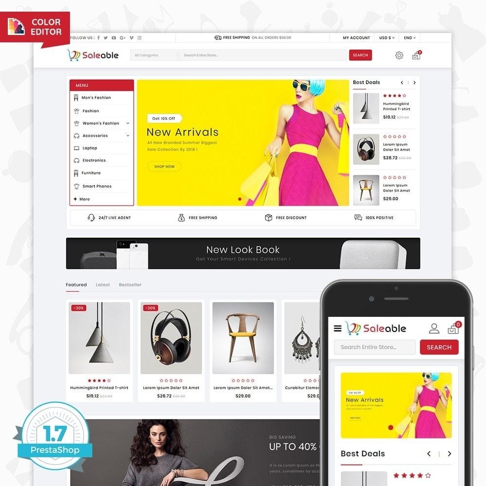 theme - Electronique & High Tech - Saleable - Online Shopping Trade - 1
