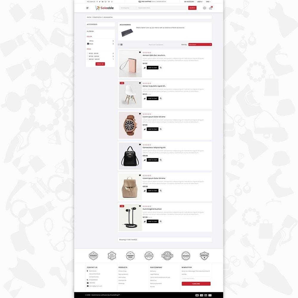 theme - Electronique & High Tech - Saleable - Online Shopping Trade - 4