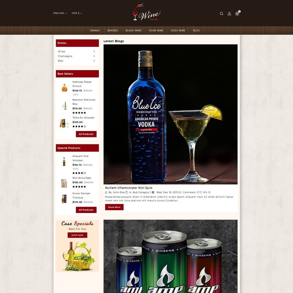 theme - Drink & Tobacco - Wine House Online Store - 5
