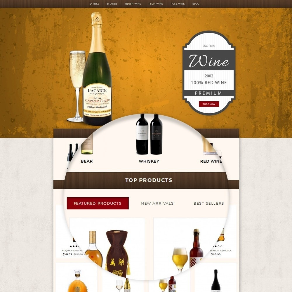 theme - Drink & Tobacco - Wine House Online Store - 7
