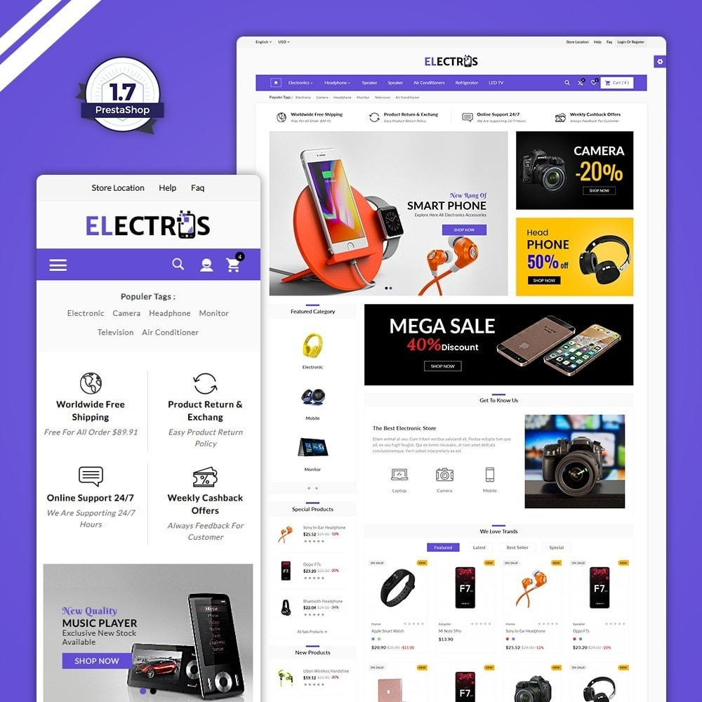 theme - Electronique & High Tech - The Large Electronic Store - 1