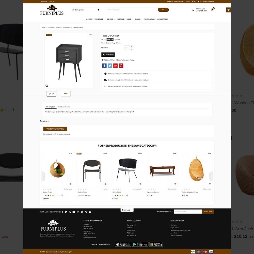 theme - Home & Garden - Wood Furniture Mega Store - 4