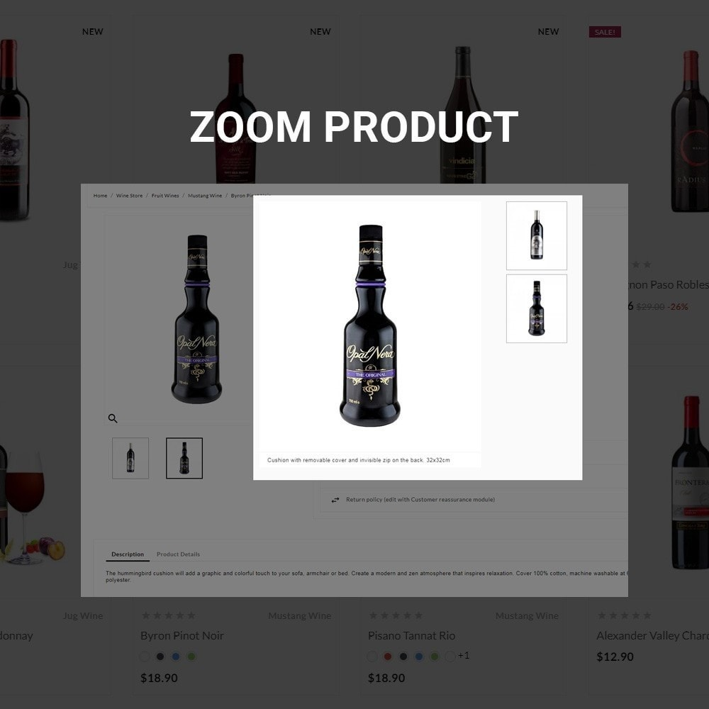 theme - Boissons & Tabac - The Wine Store – France Wine Shop - 6