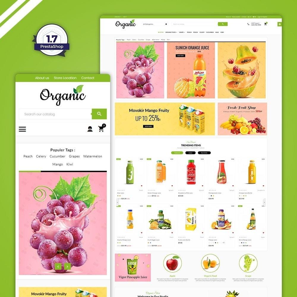 theme - Saúde & Beleza - The Organic Store - 1