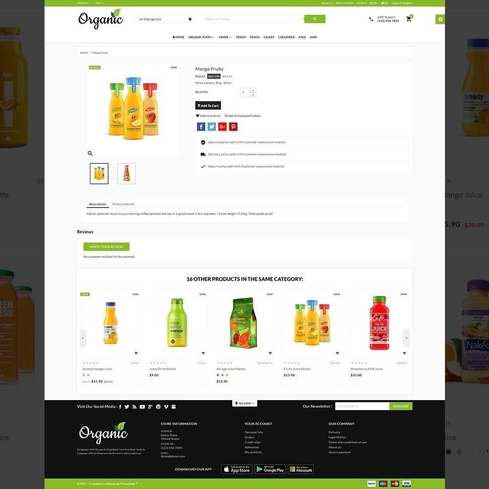 theme - Saúde & Beleza - The Organic Store - 4
