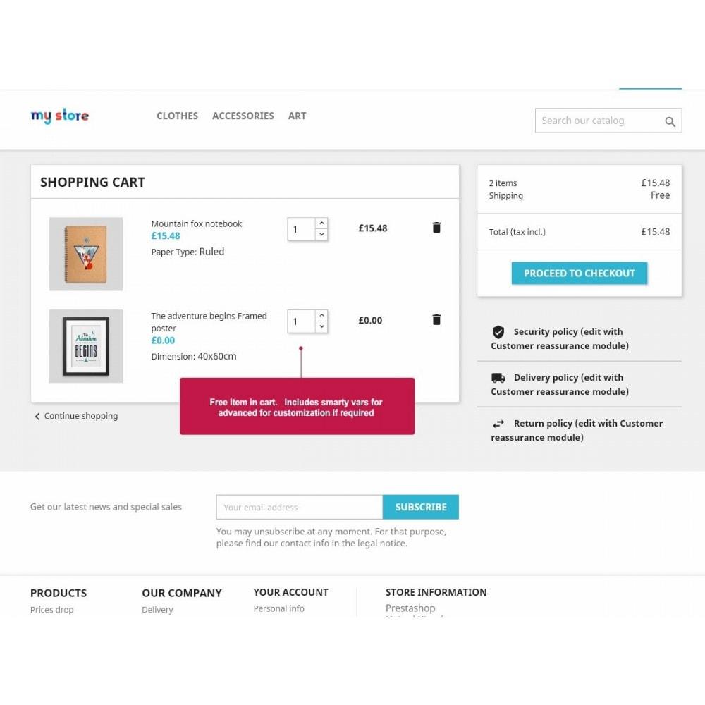 module - Promoções & Brindes - Free Product Gifts - 2