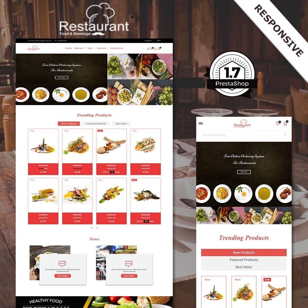 theme - Alimentos & Restaurantes - Loja de Restaurantes - 1