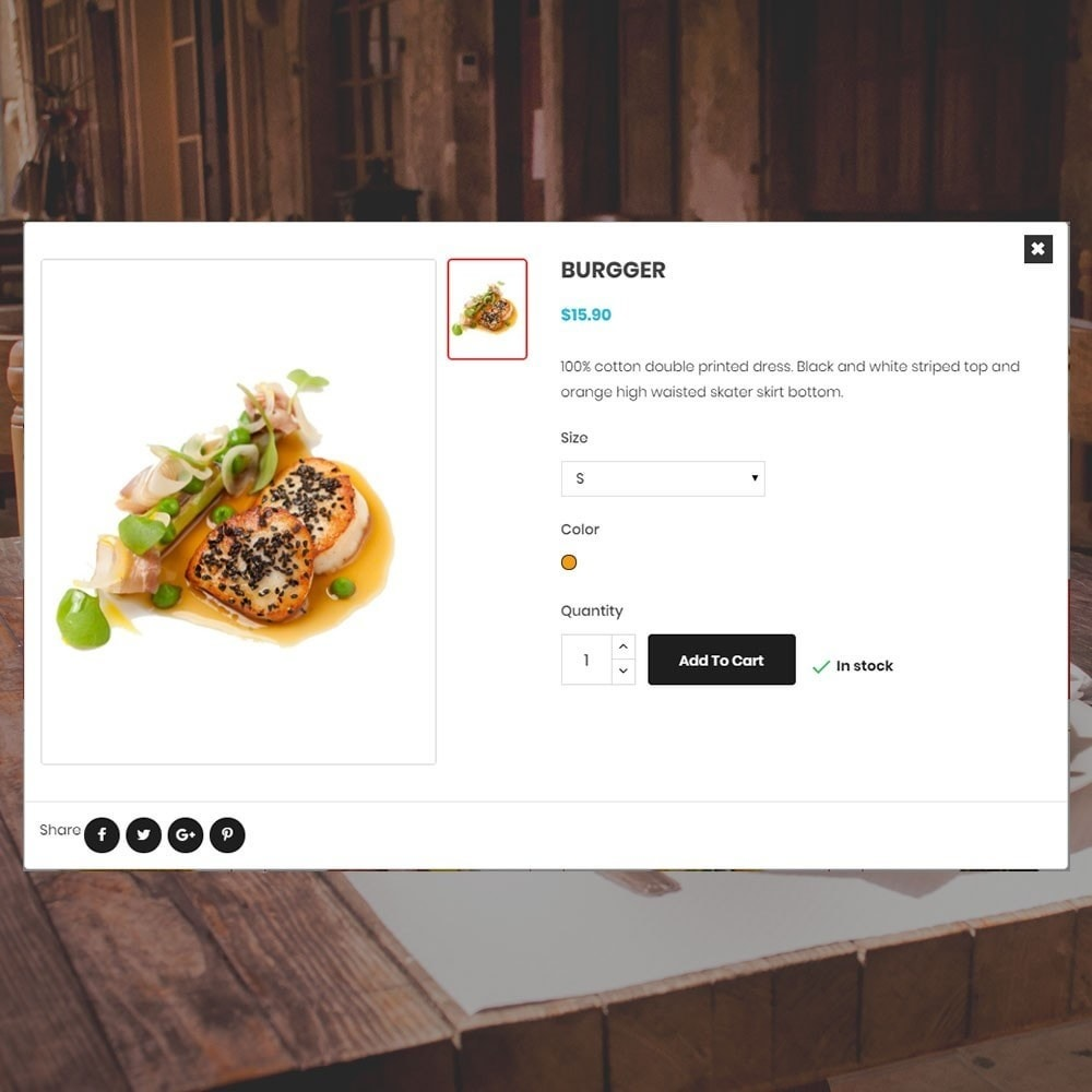 theme - Food & Restaurant - Restaurant Store - 6