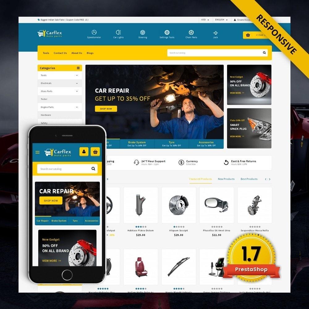 theme - Automotive & Cars - CarFlex - The AutoParts Store - 2