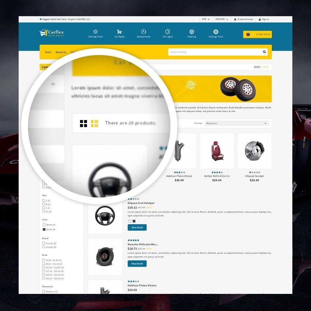 theme - Automotive & Cars - CarFlex - The AutoParts Store - 3