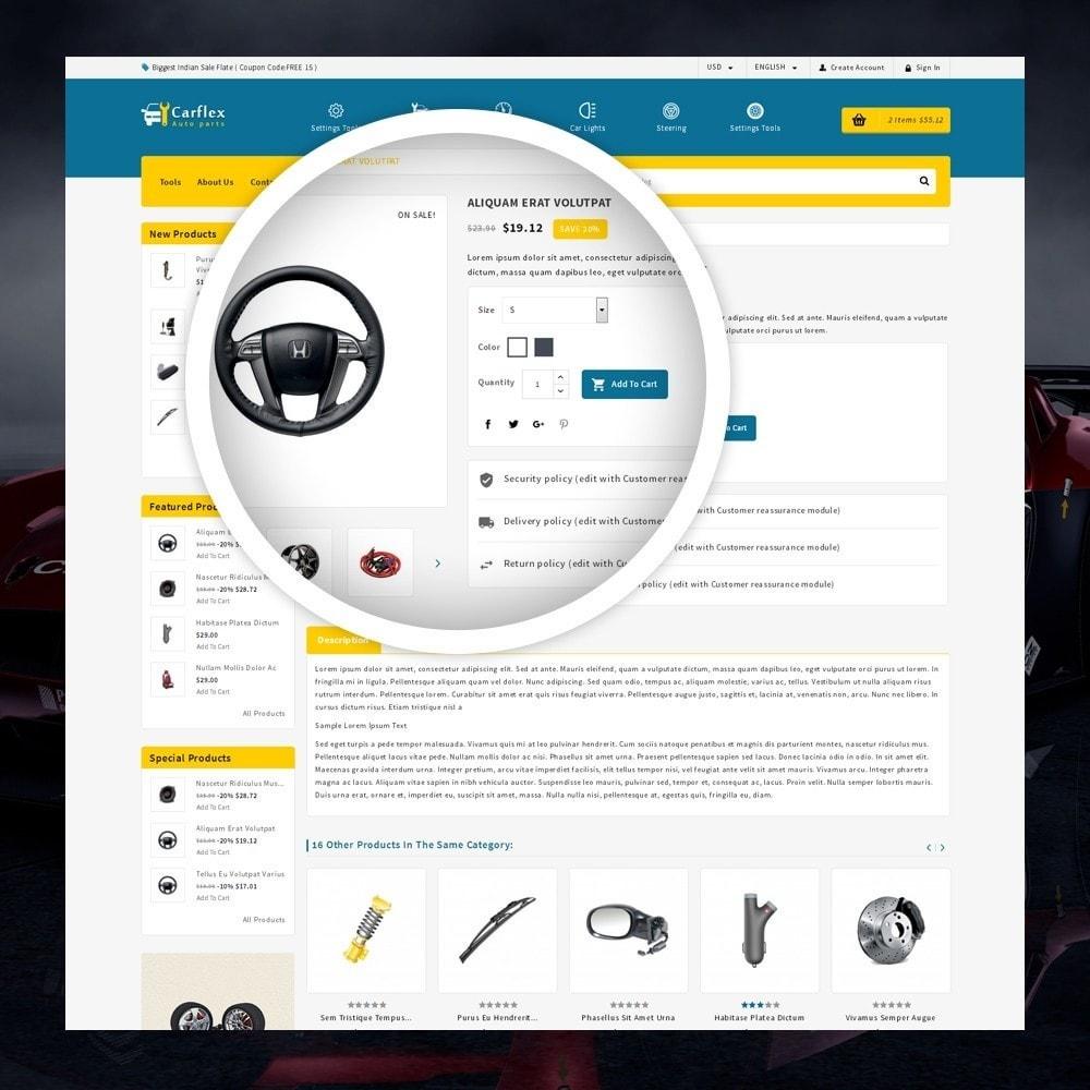 theme - Automotive & Cars - CarFlex - The AutoParts Store - 4
