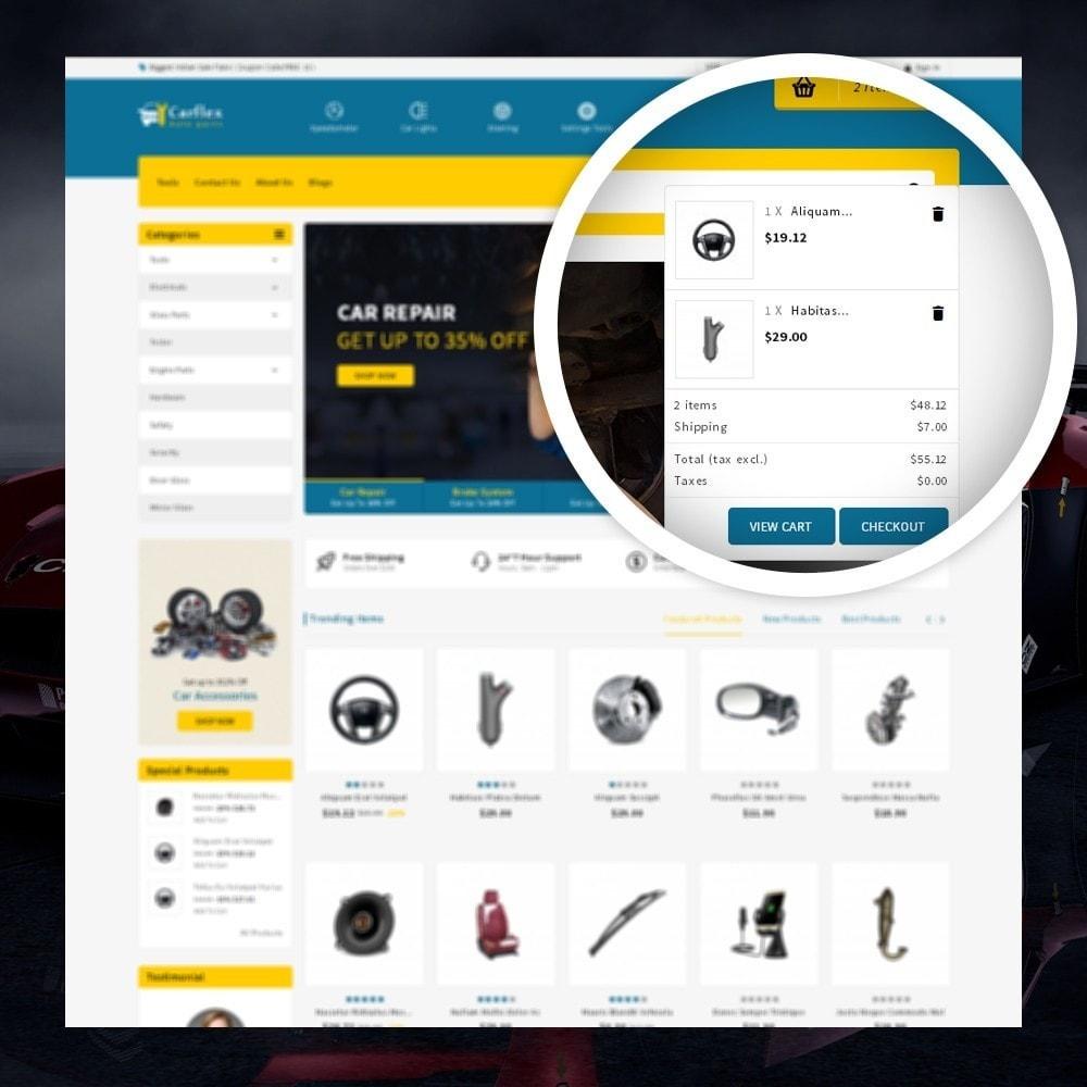 theme - Automotive & Cars - CarFlex - The AutoParts Store - 5