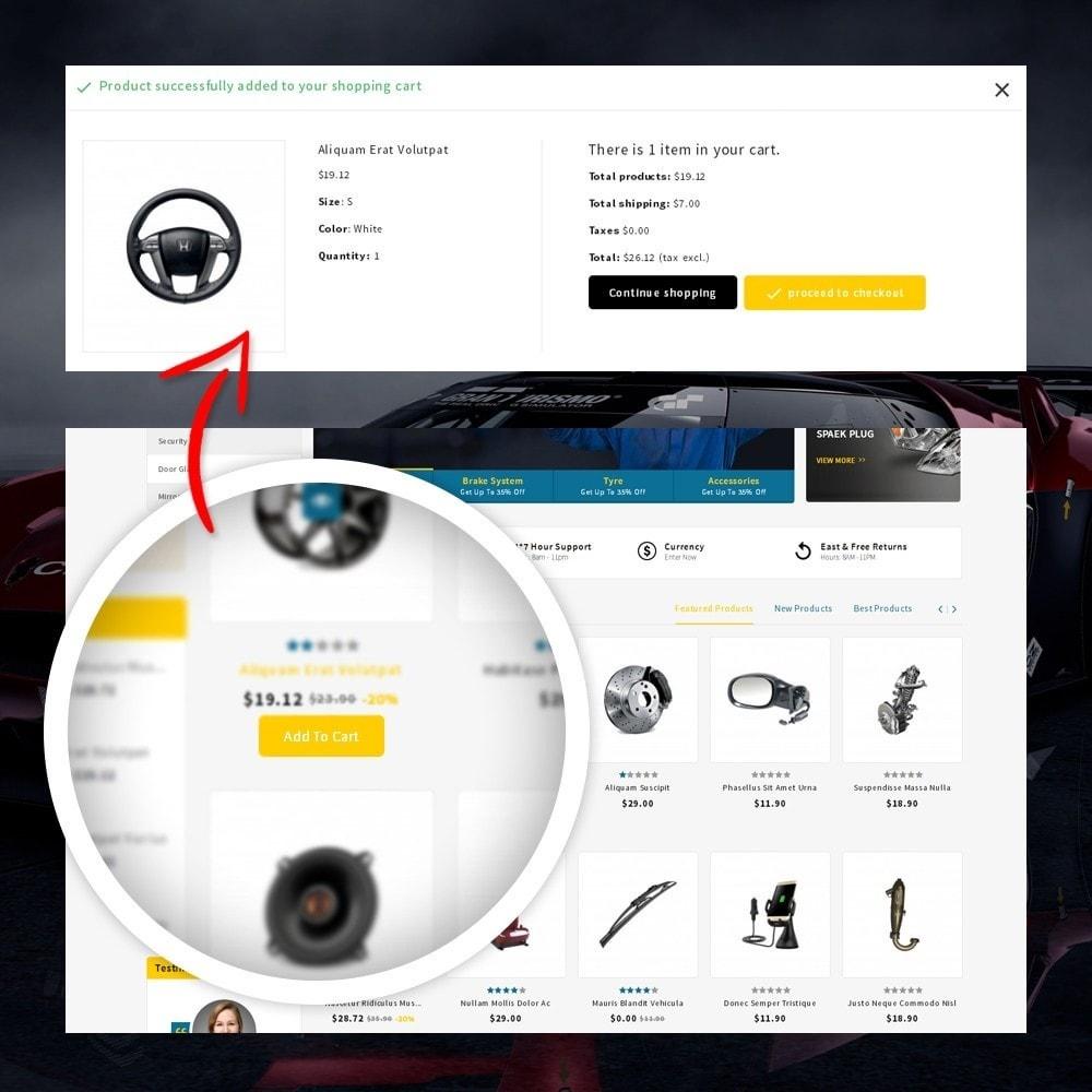 theme - Automotive & Cars - CarFlex - The AutoParts Store - 6