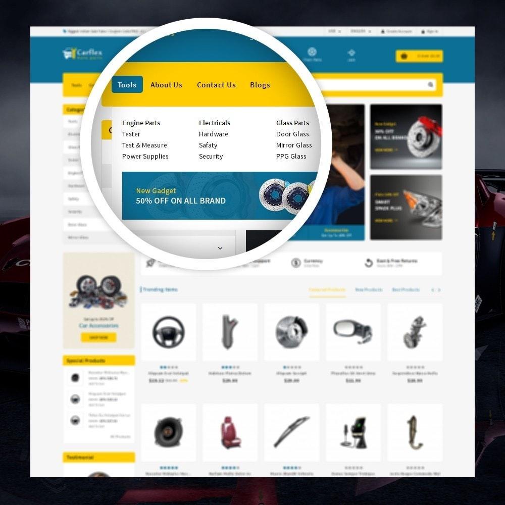theme - Automotive & Cars - CarFlex - The AutoParts Store - 7