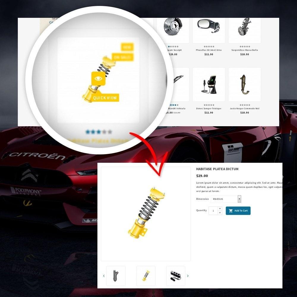 theme - Automotive & Cars - CarFlex - The AutoParts Store - 8