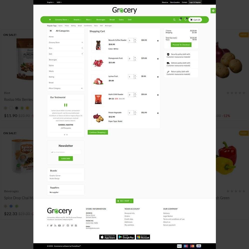 theme - Food & Restaurant - Grocery Mega Food–Vegitable Shop - 4