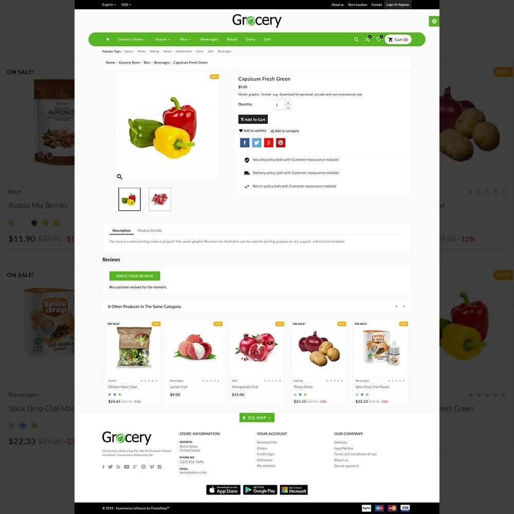 theme - Alimentation & Restauration - Grocery Mega Shop - 5