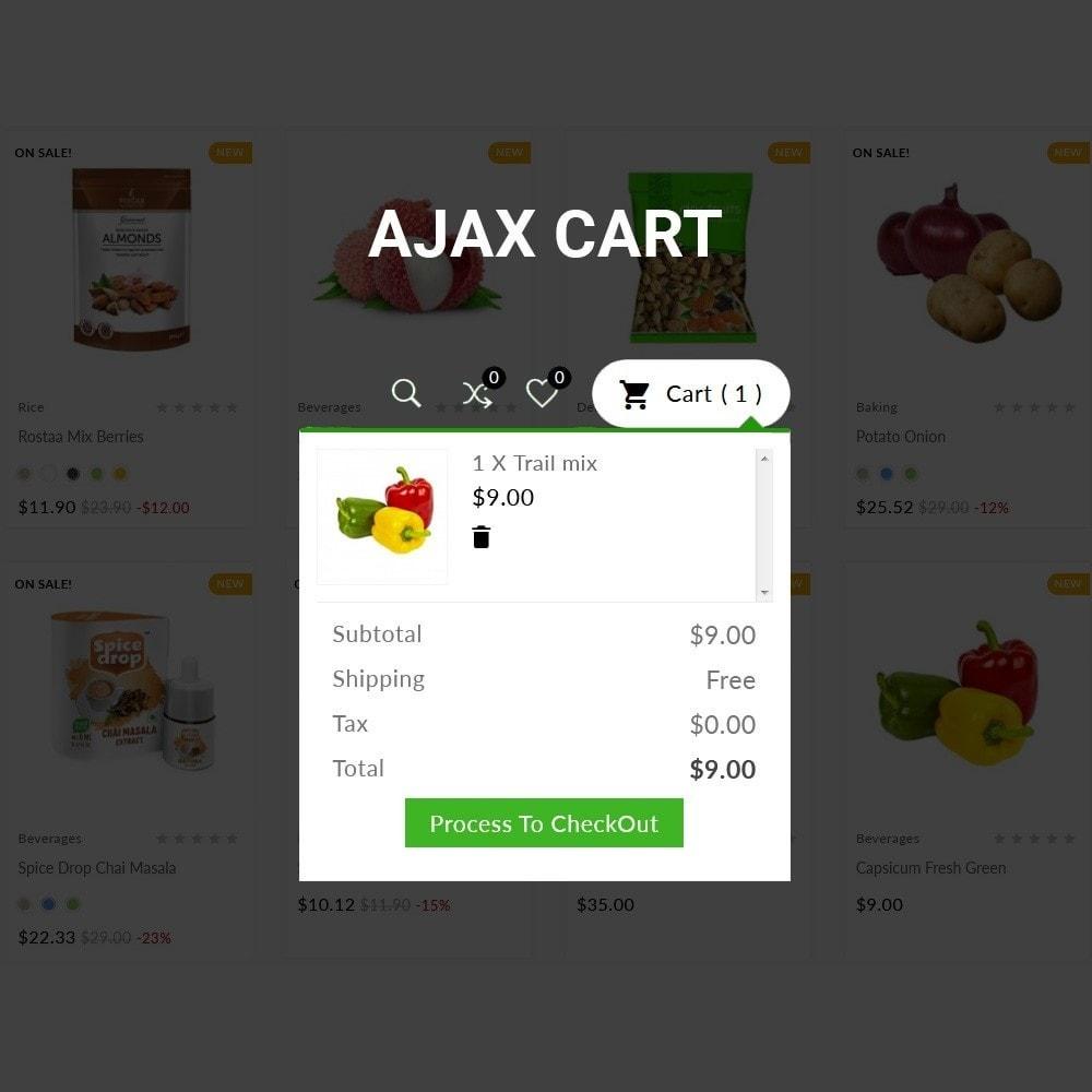 theme - Food & Restaurant - Grocery Mega Food–Vegitable Shop - 6