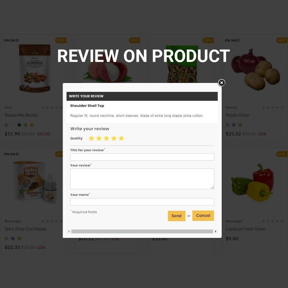 theme - Food & Restaurant - Grocery Mega Food–Vegitable Shop - 9