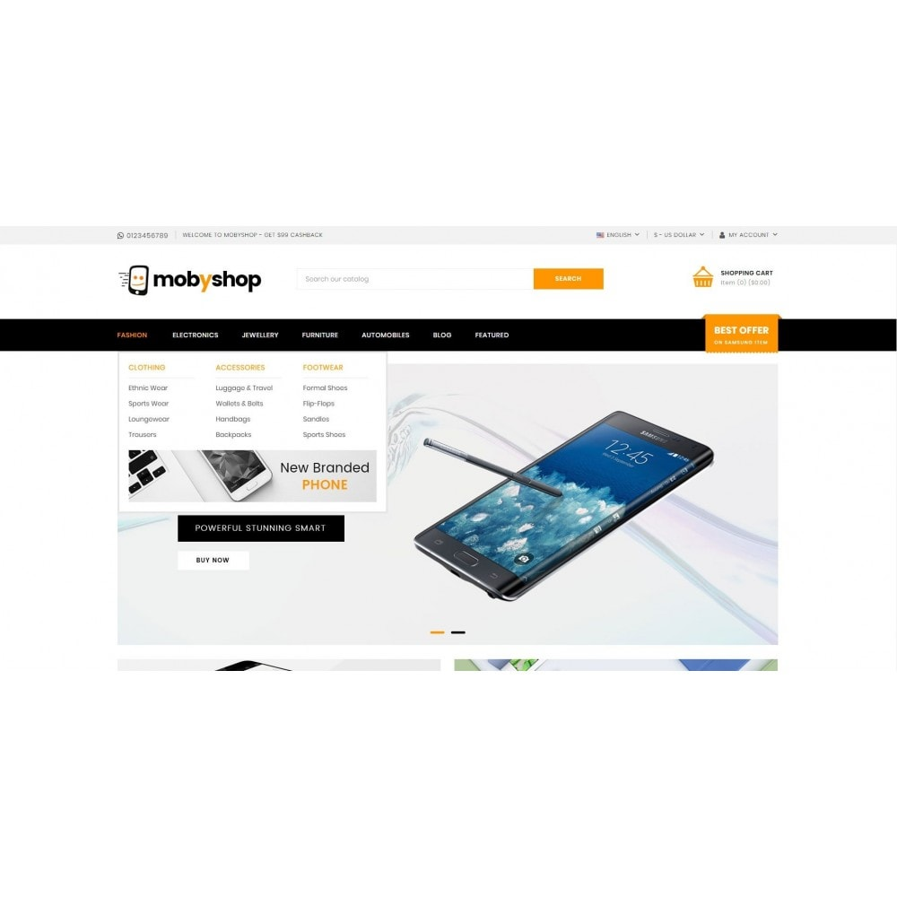 theme - Electronics & Computers - Mobyshop - Online Mobile Store - 6