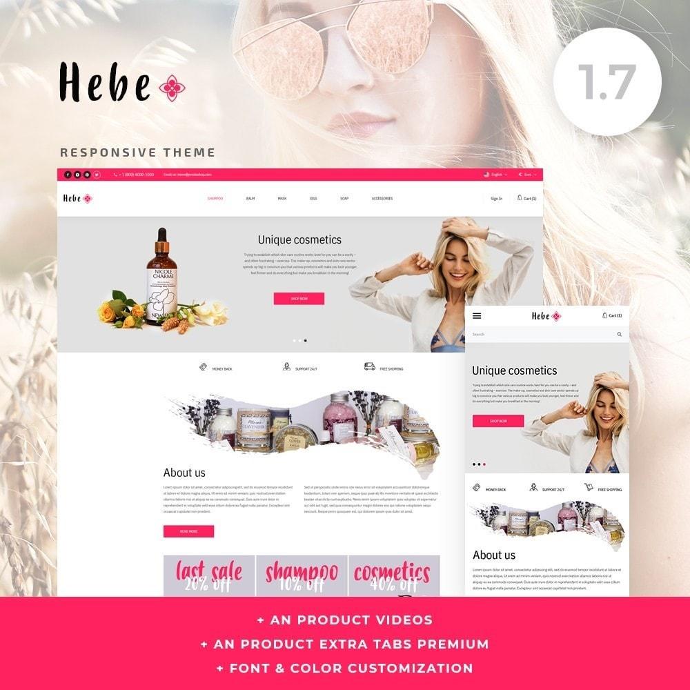 theme - Santé & Beauté - Hebe Cosmetics - 1