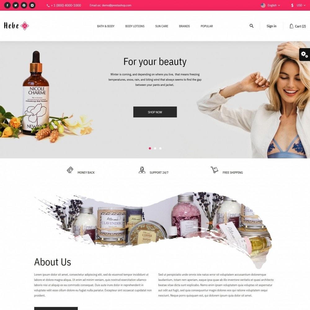 theme - Santé & Beauté - Hebe Cosmetics - 2
