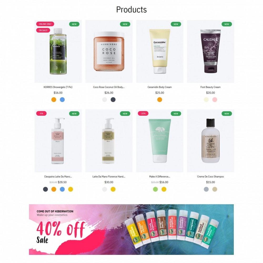 theme - Santé & Beauté - Hebe Cosmetics - 3