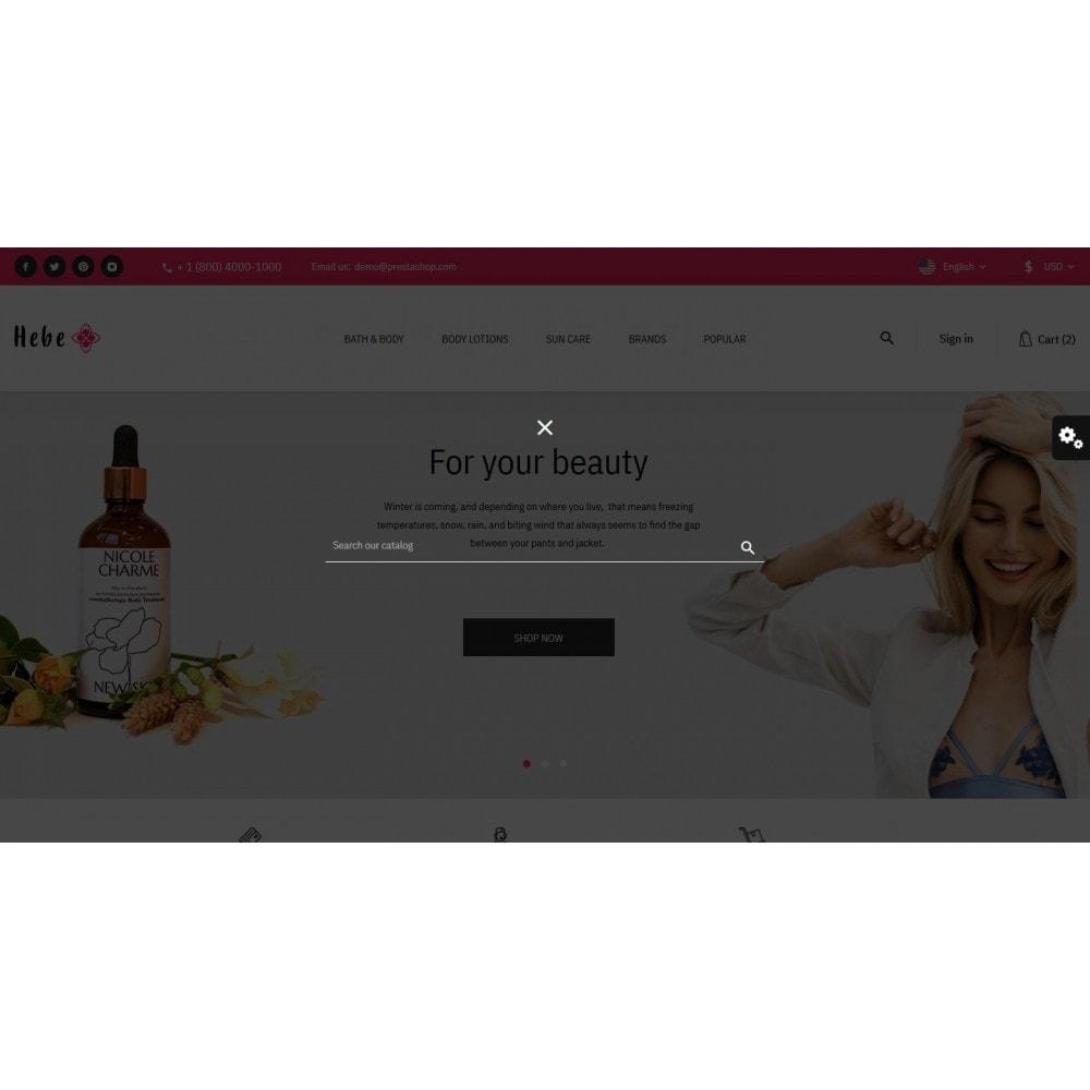 theme - Santé & Beauté - Hebe Cosmetics - 10