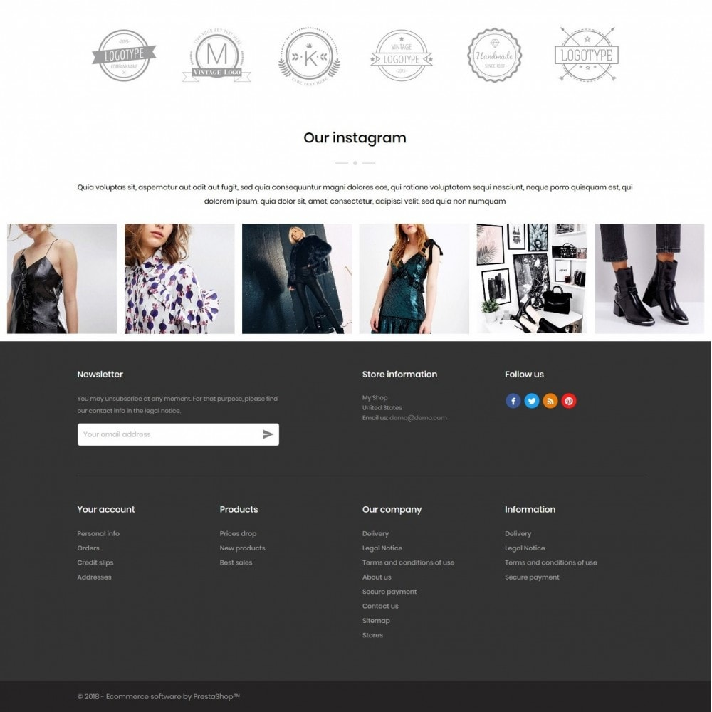 theme - Mode & Chaussures - Newberry Fashion Store - 4
