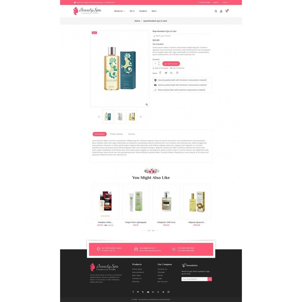 theme - Health & Beauty - Beauty Cosmetics & Spa - 5