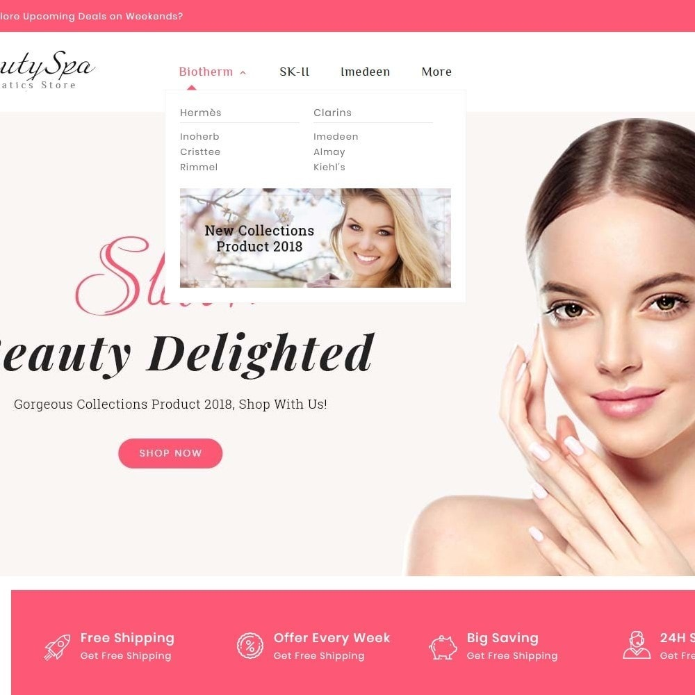 theme - Health & Beauty - Beauty Cosmetics & Spa - 9
