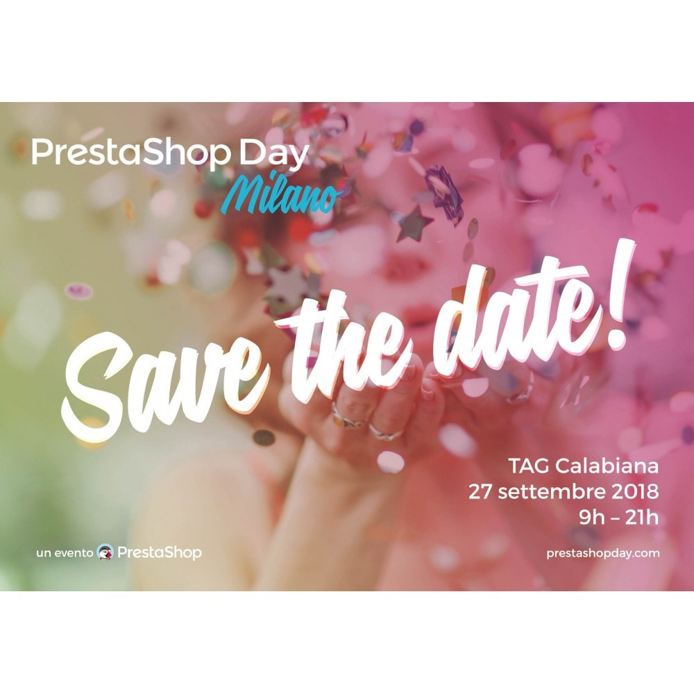 other - Home - PrestaShop Day Milano 2018 - 1