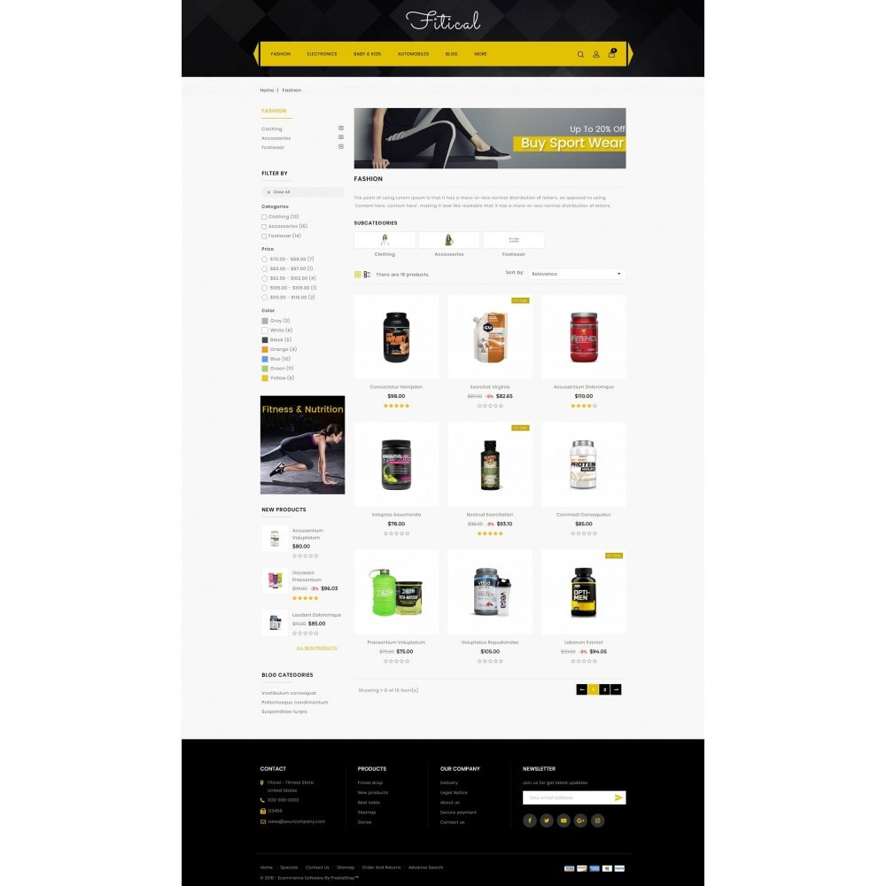 theme - Saúde & Beleza - Fitical - Fitness Store - 3