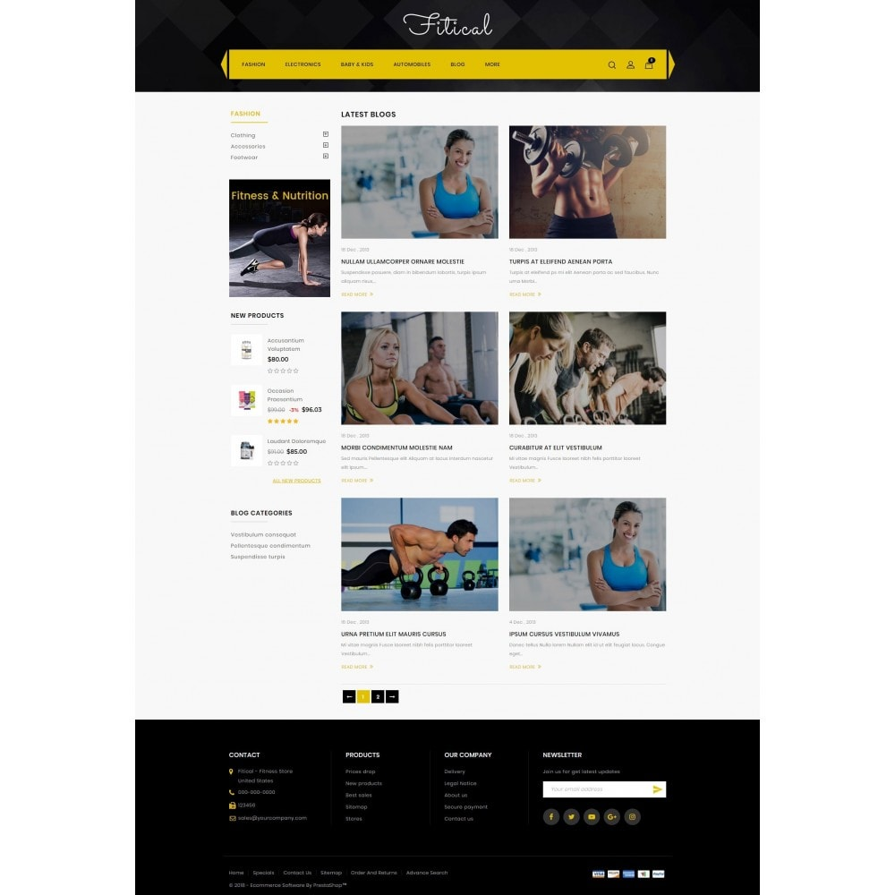 theme - Saúde & Beleza - Fitical - Fitness Store - 9