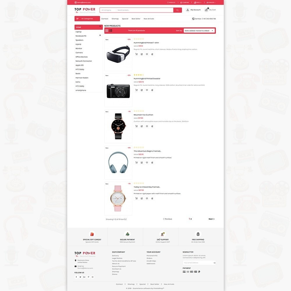 theme - Electronique & High Tech - Top Tower - The Mega Ecommerce Store - 3