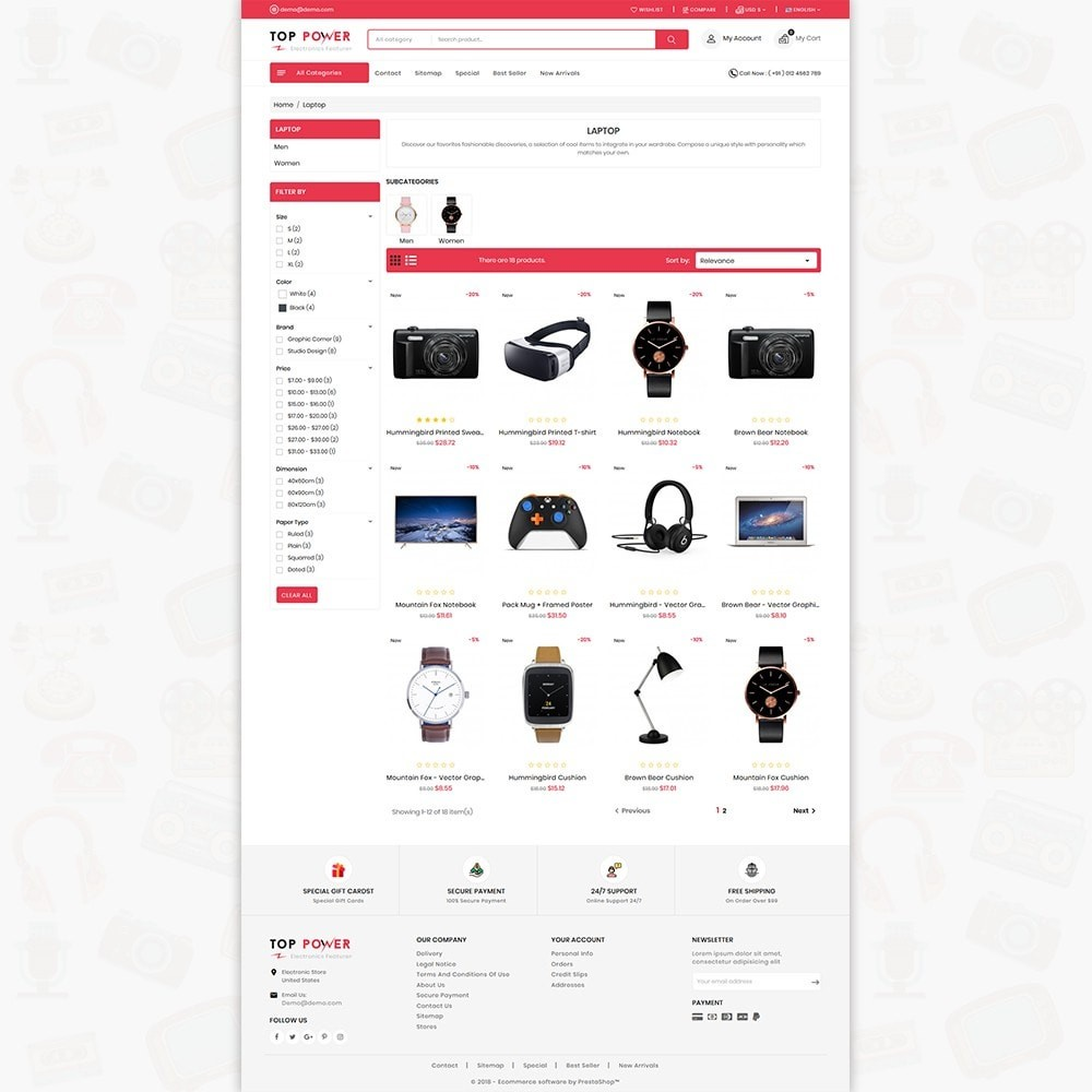 theme - Electronique & High Tech - Top Tower - The Mega Ecommerce Store - 4