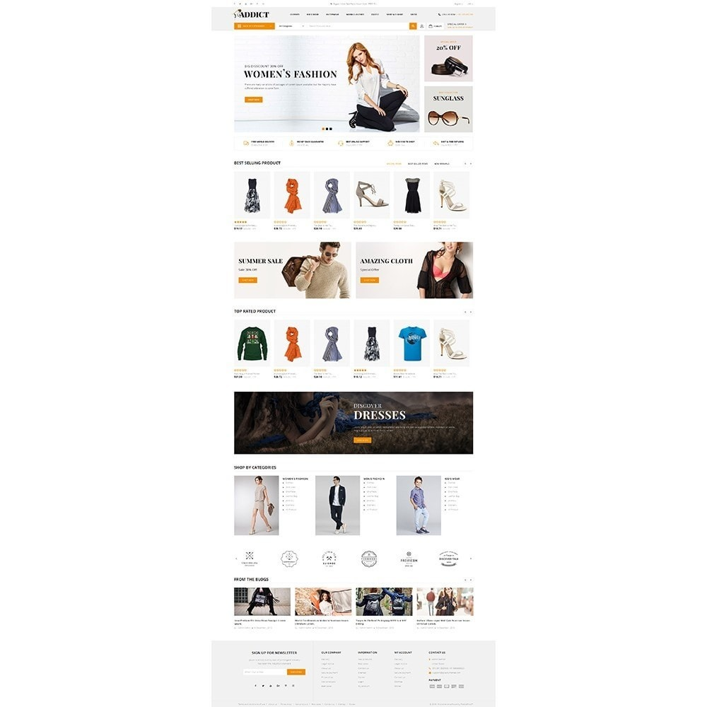 theme - Mode & Chaussures - Addict Fashion Store - 2