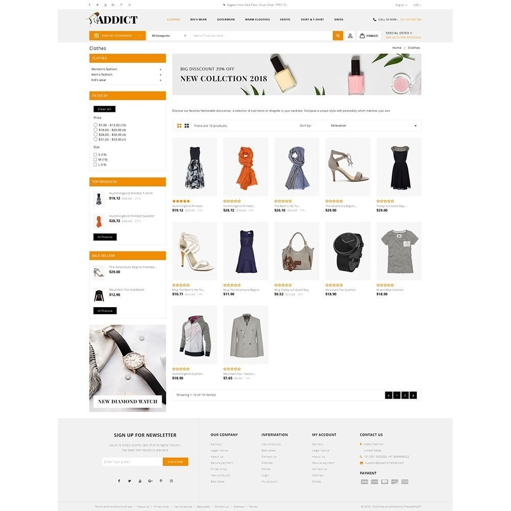 theme - Mode & Chaussures - Addict Fashion Store - 3