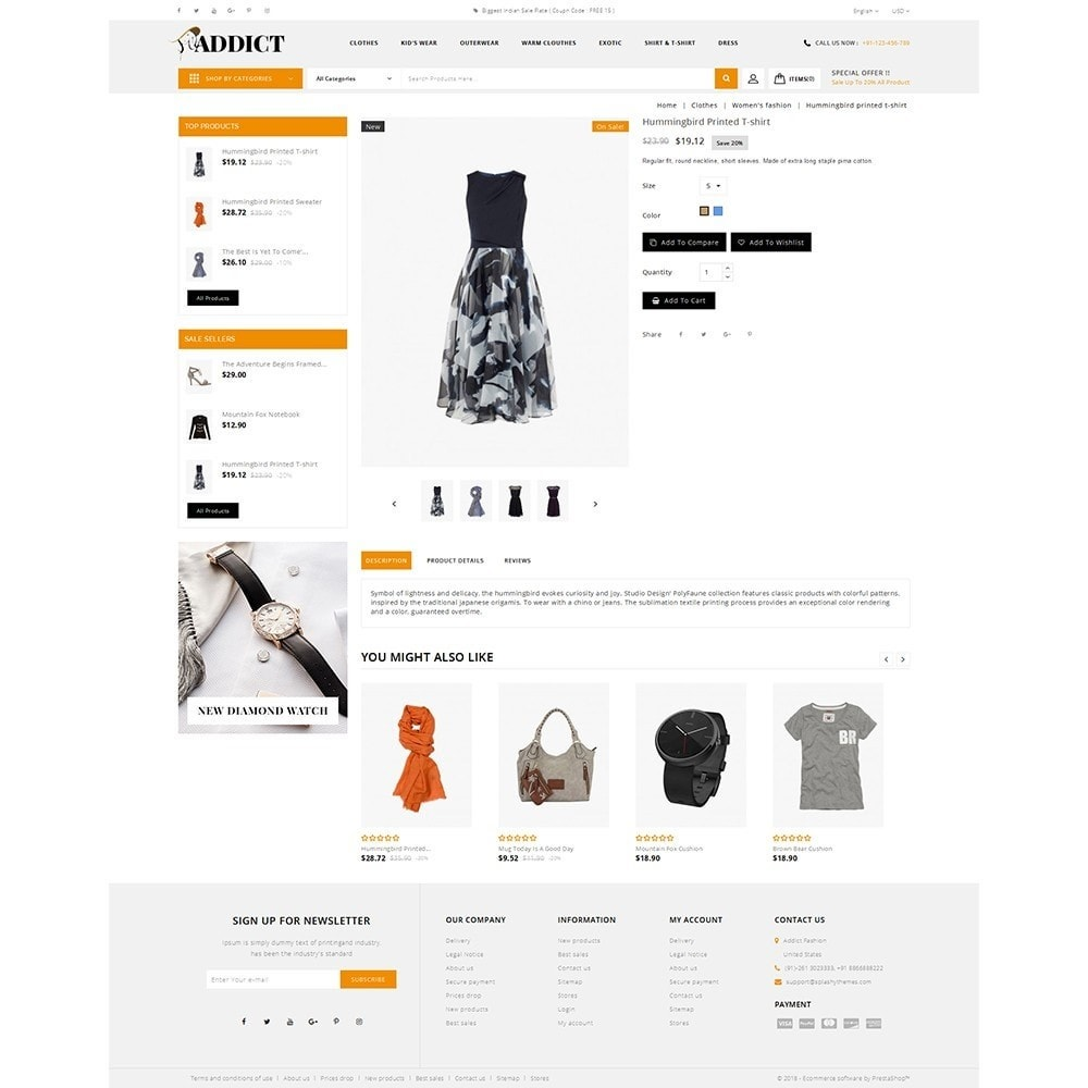 theme - Mode & Chaussures - Addict Fashion Store - 5