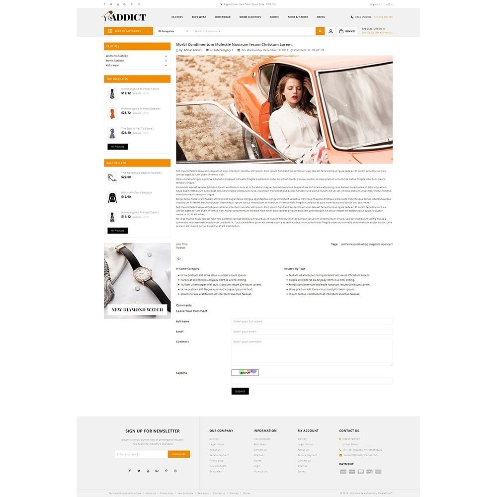 theme - Mode & Chaussures - Addict Fashion Store - 6