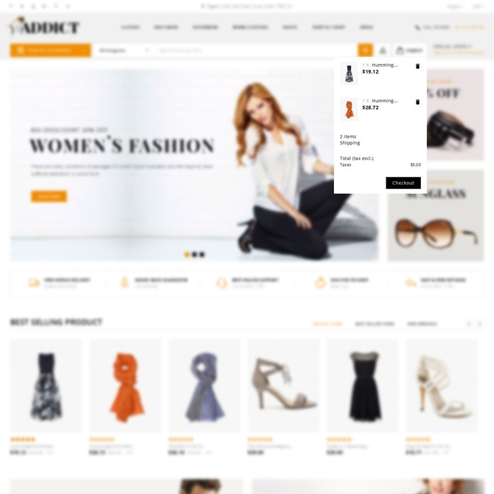 theme - Mode & Chaussures - Addict Fashion Store - 8